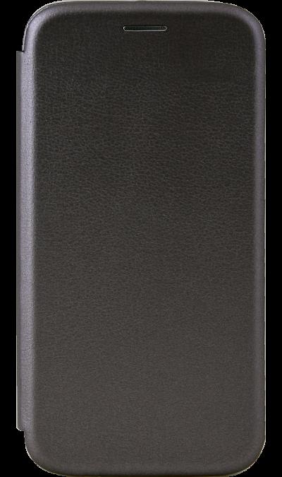 Чехол-книжка Deppa для Honor 9 Lite, полиуретан, серый фото
