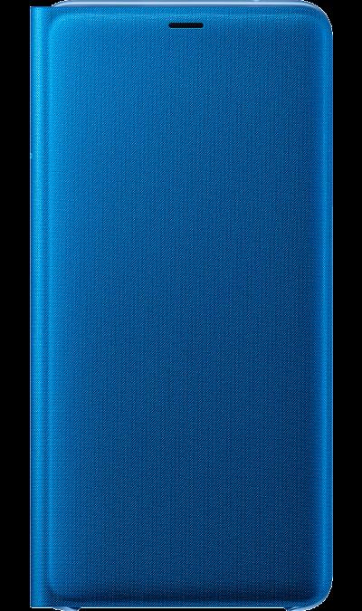 Чехол-книжка Samsung для Galaxy A9 (2018), полиуретан, синий фото