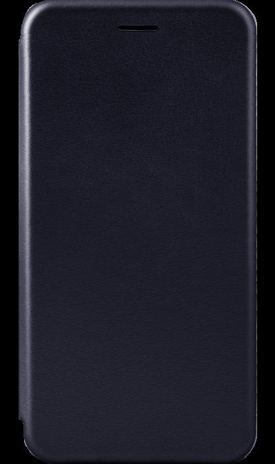 Чехол-книжка Deppa для Samsung Galaxy A7 (2018), полиуретан, синий фото