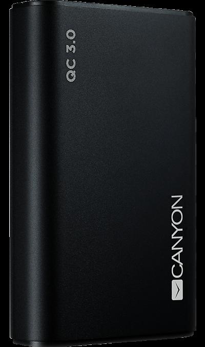 Аккумулятор Canyon BQC10B, Li-Ion, 10000 мАч, черный