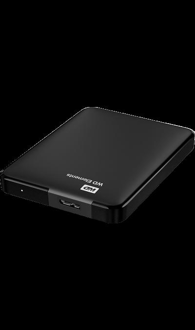 Жесткий диск WD HDD Elements Portable 2 TB (черный)