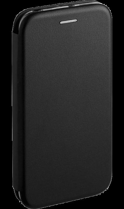 Чехол-книжка Deppa для Huawei Y5 (2018), кожзам, черный  - купить со скидкой