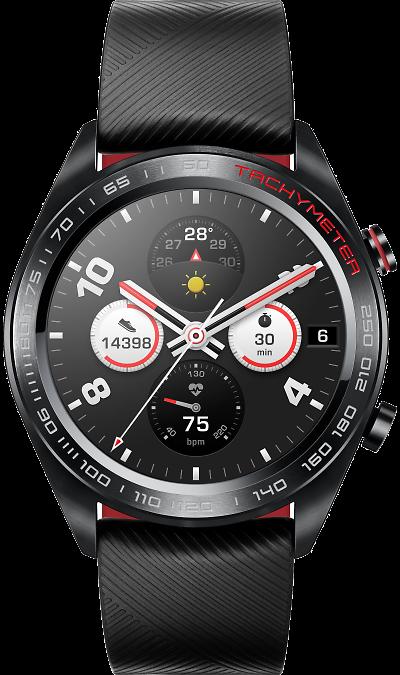 Часы Honor Watch Magic black (черные) фото