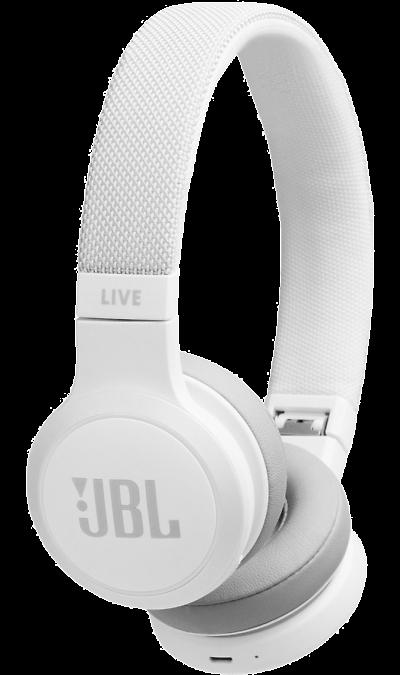 Наушники JBL Live 400BT White (белые)