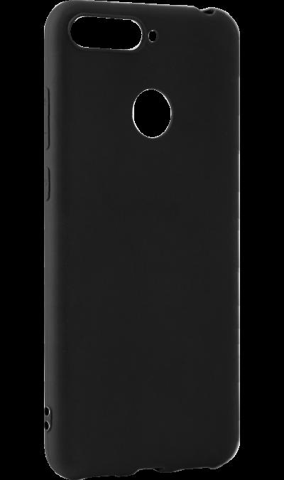 Чехол-крышка LuxCase для Honor 7A Pro/7C, полиуретан, черный