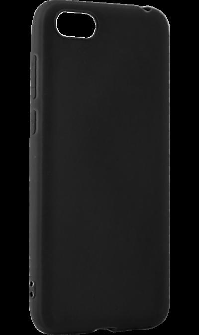 Чехол-крышка LuxCase для Honor 7A, полиуретан, черный фото