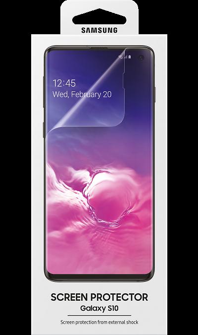 Защитная пленка Samsung ET-FG973CTEGRU для Galaxy S10 фото