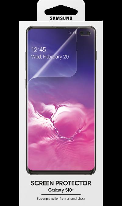 Защитная пленка Samsung ET-FG975CTEGRU для Galaxy S10+