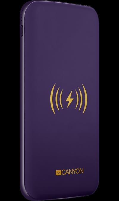 Аккумулятор Canyon CNS-TPBW8P, Li-Pol, 8000 мАч, фиолетовый