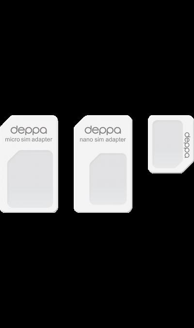 Адаптер Deppa Nano & Micro SIM 3 в 1 фото