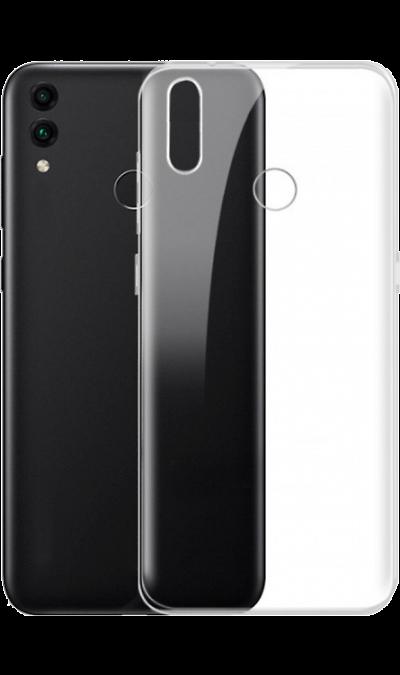 Чехол-крышка LuxCase для Honor 8C, силикон, прозрачный