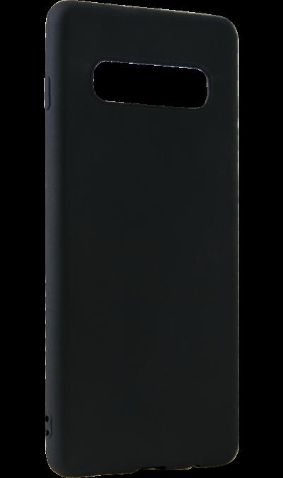 Чехол-крышка LuxCase для Galaxy S10+, термополиуретан, черный фото