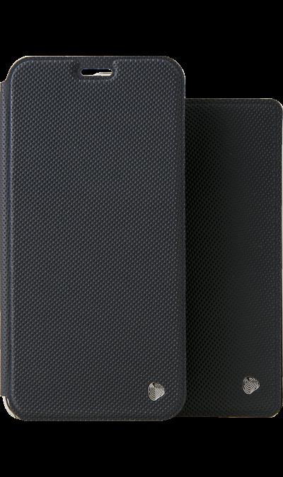 Чехол-книжка + обложка на паспорт FashionTouch для Honor 8X, полиуретан, черный фото