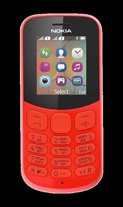 Телефон Nokia 130 TA-1017 Dual Sim Red (Красный)