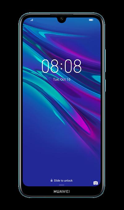 Смартфон HUAWEI Y6 (2019) Blue (синий) фото