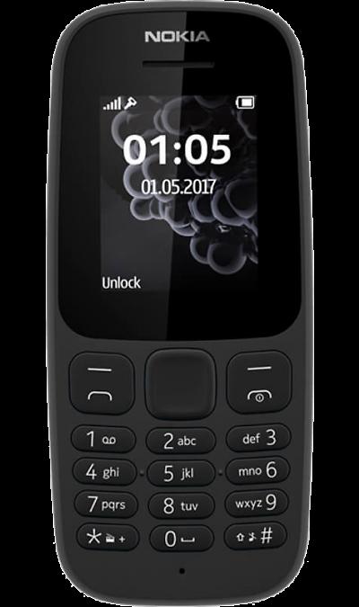 Телефон Nokia 105 (2017) Black