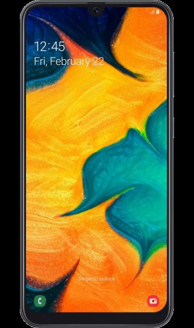 Смартфон Samsung Galaxy A30 32GB Черный