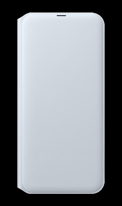 Чехол-книжка Samsung для Galaxy A30, полиуретан, белый фото