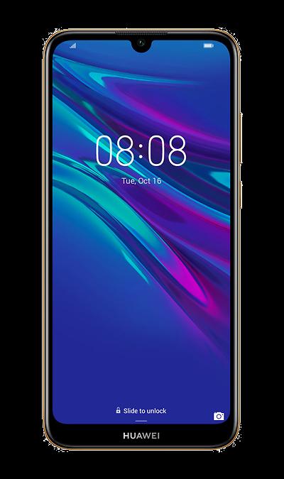 Смартфон HUAWEI Y6 (2019) Amber Brown (коричневый) фото