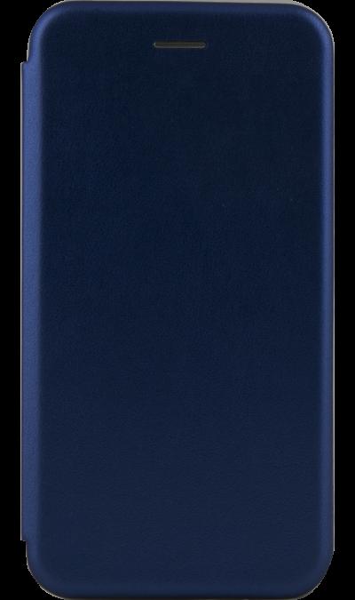 Чехол-книжка Deppa для Huawei Y7 (2019), кожзам, синий фото