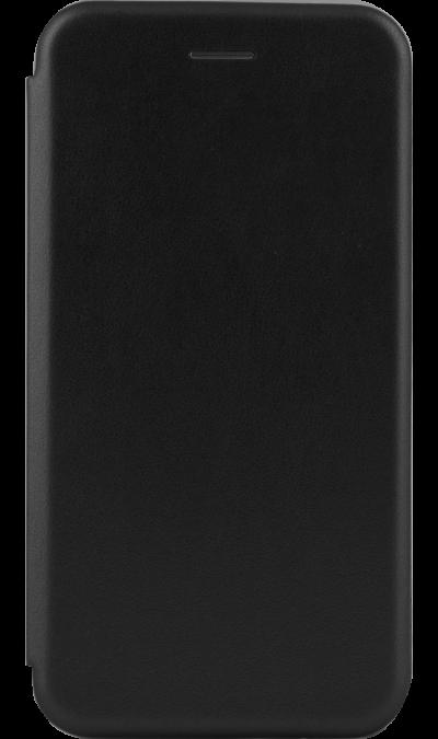 Чехол-книжка Deppa для Huawei Y7 (2019), кожзам, черный фото