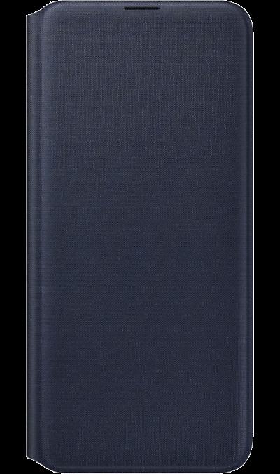 Чехол-книжка Samsung для Galaxy A20, полиуретан, черный фото