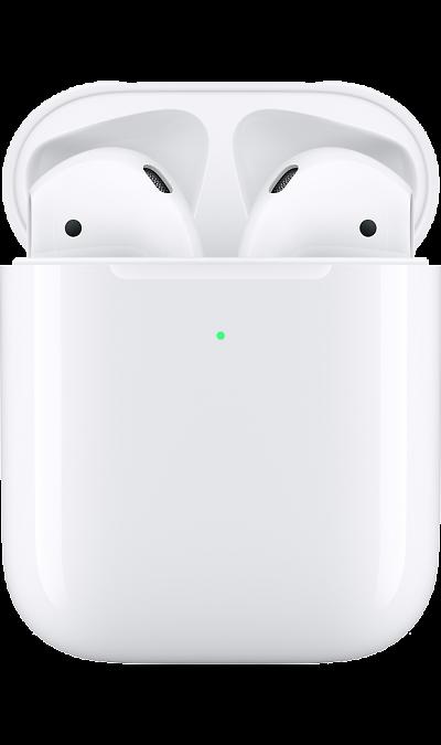 Наушники Apple AirPods 2 (беспроводная зарядка чехла) MRXJ2RU/A White