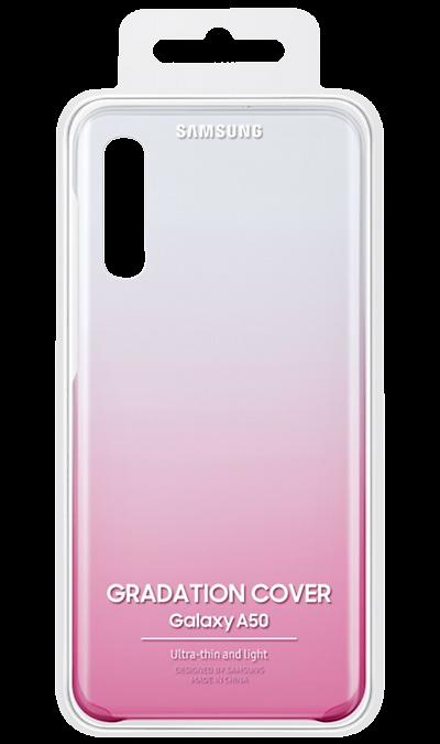 Чехол-крышка Samsung AA505CPEGRU для A50, поликарбонат, розовый фото