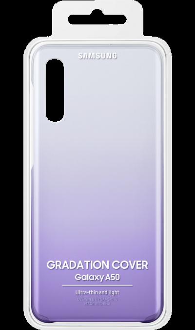 Чехол-крышка Samsung EF-AA505CPEGRU для A50, поликарбонат, фиолетовый фото