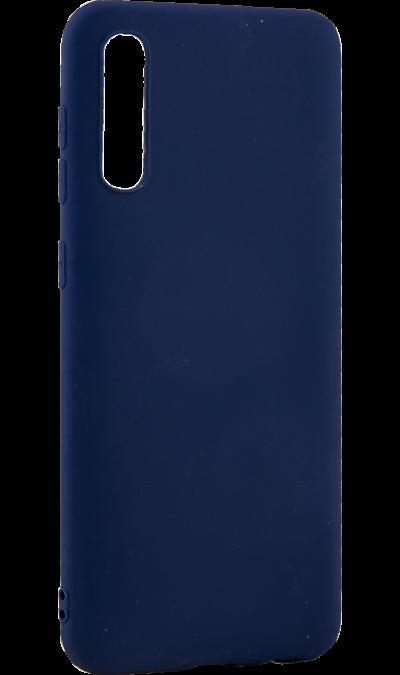 Чехол-крышка LuxCase для Samsung A50, полиуретан, синий фото