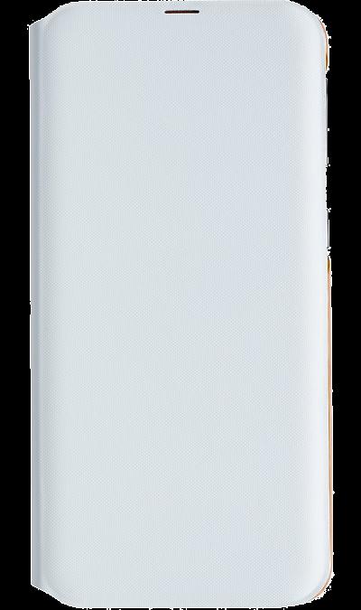 Чехол-книжка Samsung EF-WA405PWEGRU для Galaxy A40, полиуретан, белый фото
