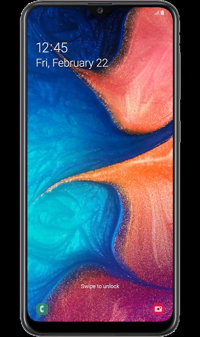Смартфон Samsung Galaxy A20 Черный