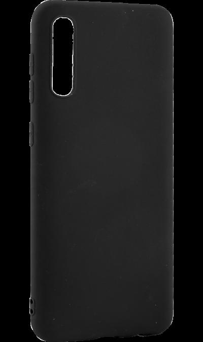 Чехол-крышка LuxCase для Galaxy A50, полиуретан, черный фото