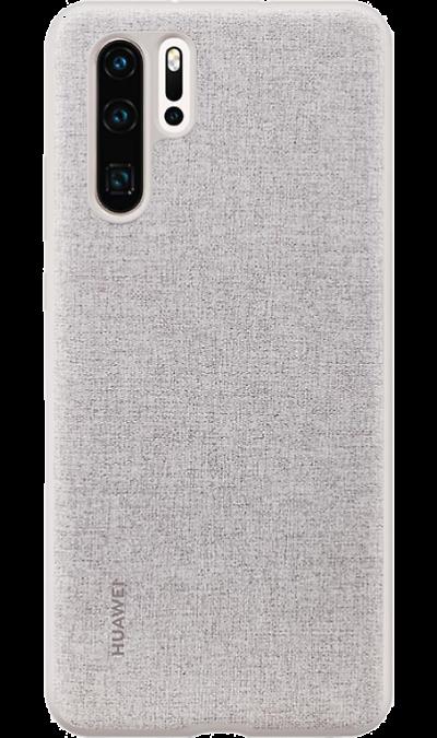 Чехол-крышка Huawei для P30 Pro, полиуретан, серый фото