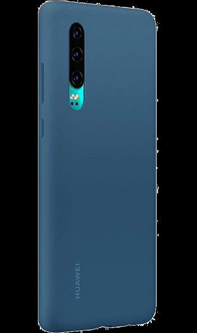 Чехол-крышка Huawei для P30, силикон, синий фото