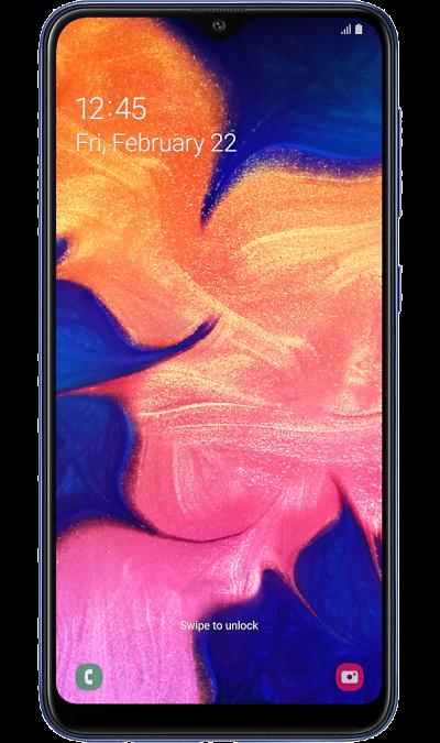 Смартфон Samsung Galaxy A10 Синий