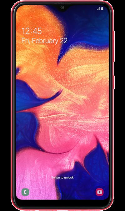 Смартфон Samsung Galaxy A10 Красный