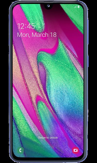 Смартфон Samsung Galaxy A40 64GB Синий