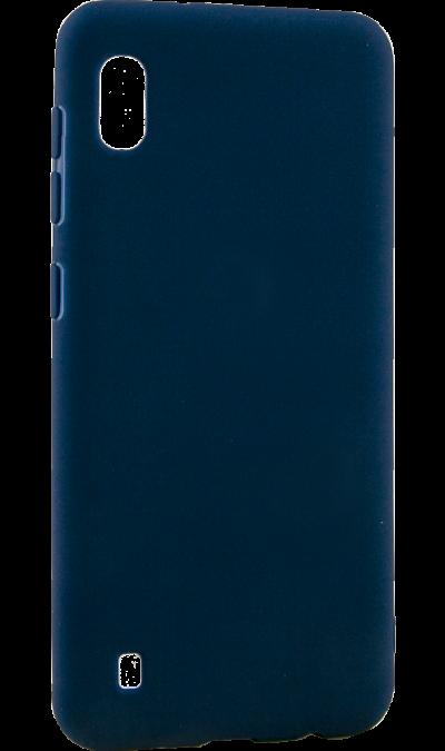 Чехол-крышка LuxCase для Galaxy A10, термополиуретан, синий фото
