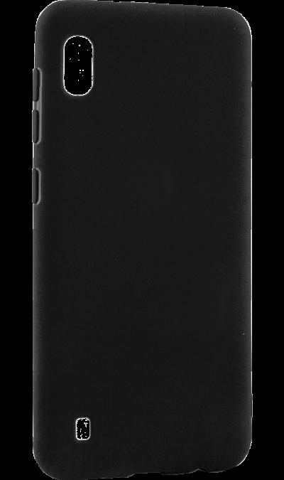 Чехол-крышка LuxCase для Galaxy A10, термополиуретан, черный фото