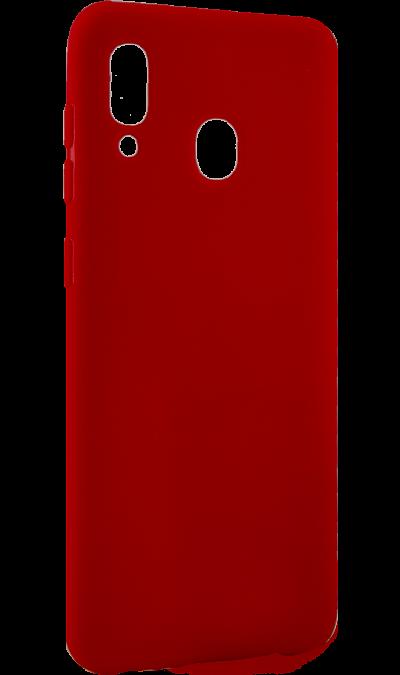 Чехол-крышка LuxCase для Galaxy A20, термополиуретан, красный фото