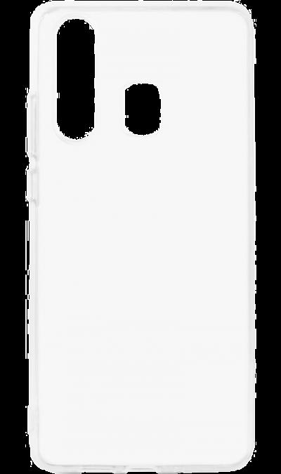 Чехол-крышка LuxCase для Galaxy A20, термополиуретан, прозрачный фото