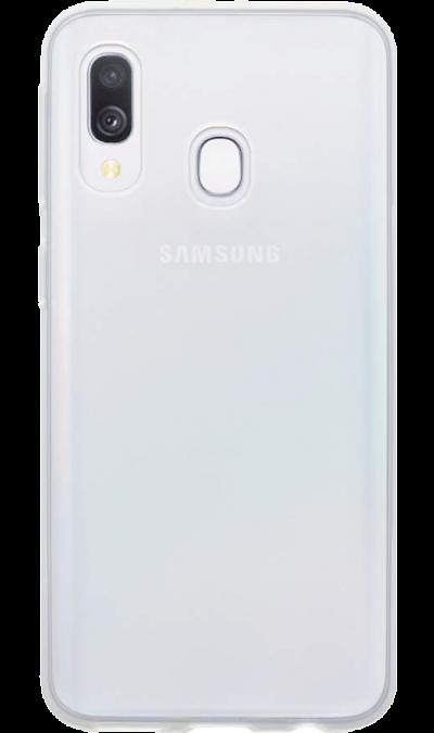 Чехол-крышка LuxCase для Galaxy A40, силикон, прозрачный фото