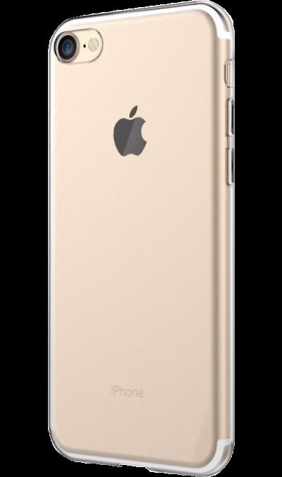 Чехол-крышка LuxCase для Apple iPhone 7/8, силикон, прозрачный фото