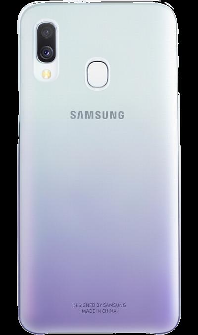 Чехол-крышка Samsung EF-AA405CVEGRU для Galaxy A40, поликарбонат, фиолетовый