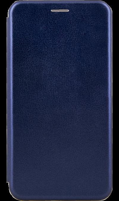Чехол-книжка Deppa для Samsung Galaxy A10, полиуретан, синий фото