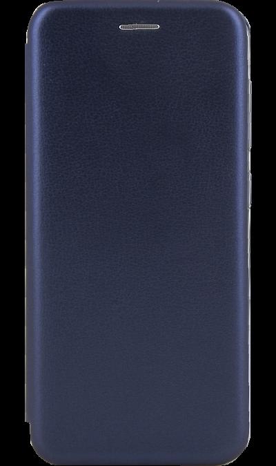 Чехол-книжка Deppa для Samsung Galaxy A20, полиуретан, синий