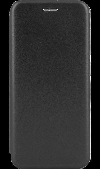 Чехол-книжка Deppa для Samsung Galaxy A20, полиуретан, черный фото