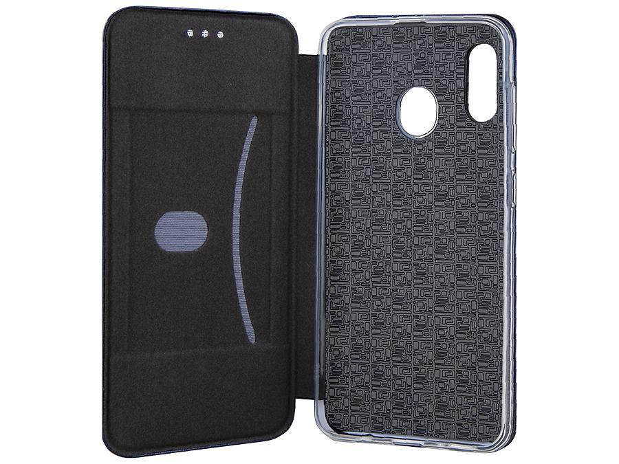 Чехол-книжка Deppa для Samsung Galaxy A40, полиуретан, черный