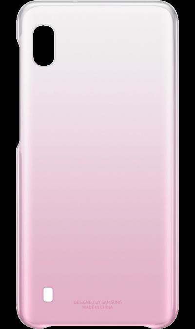 Чехол-крышка Samsung для Galaxy A10, поликарбонат, розовый фото